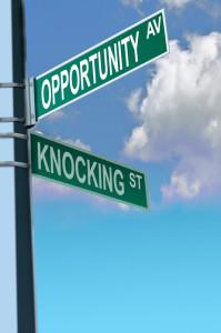 opportunity-knocking